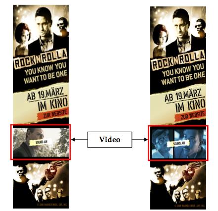 Multimediales Banner