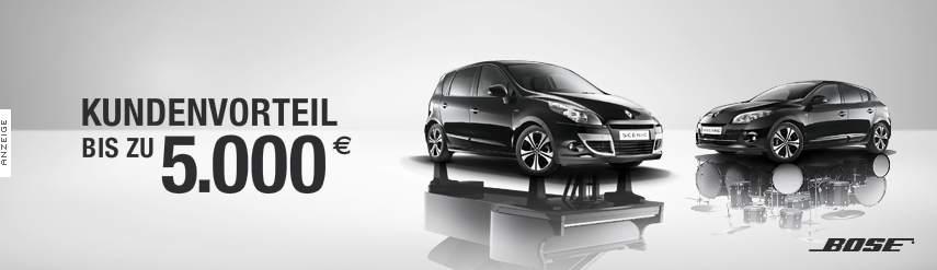 Renault/Bose Bannerwerbung mit Wet Floor Effekt