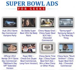 Alle Werbespots des 46. Super Bowls